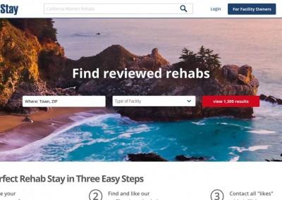 RehabStay.com – In Progress