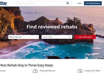 RehabStay.com – In Progress