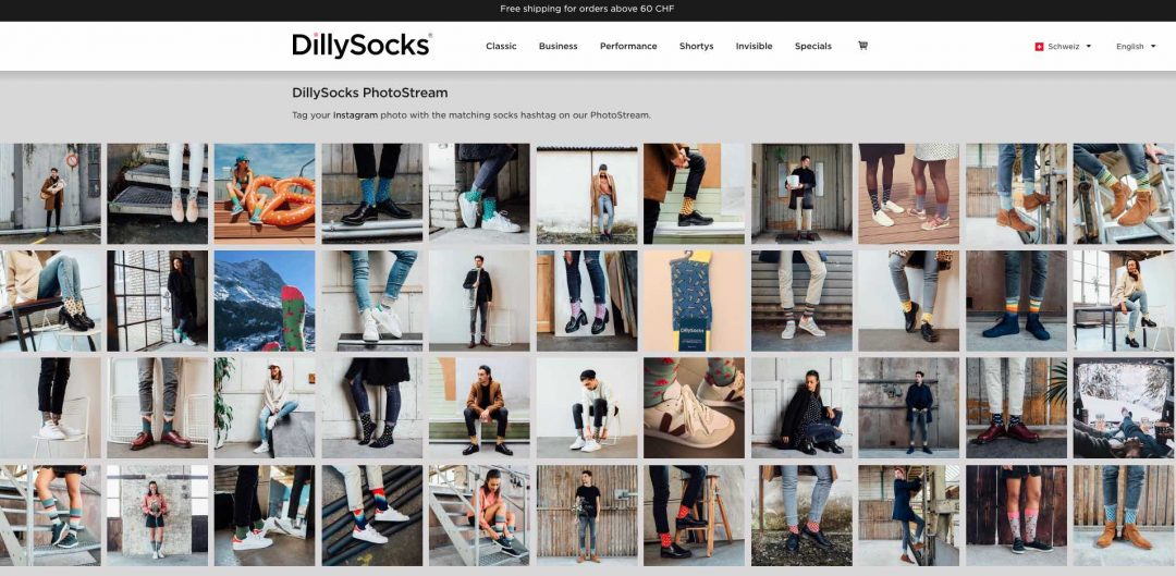 DillySocks Instagram