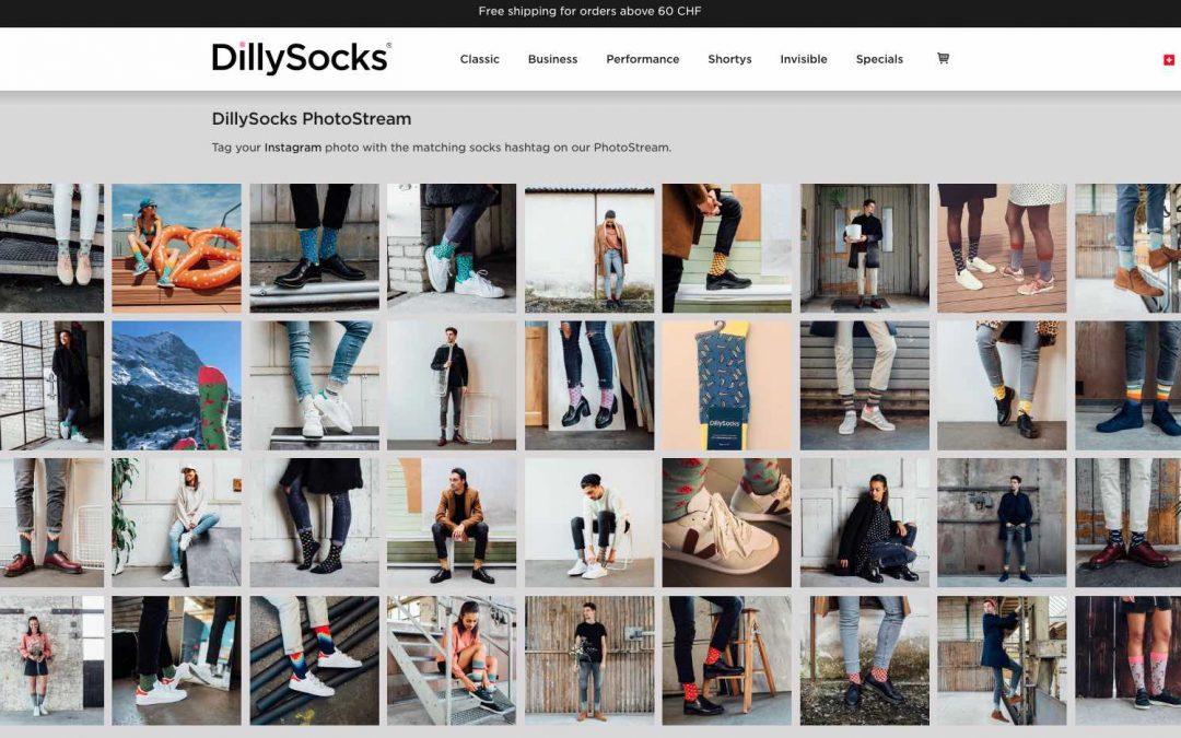 DillySocks Instagram