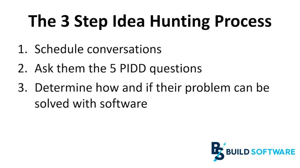3 steps idea hunting