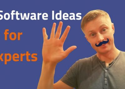 5 Software Ideas for Experts (Course Creators, Coaches, and Authors)