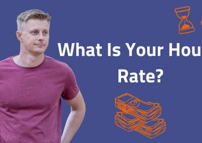 What's your hourly rate, Or is this a proper question while talking to a software developer?